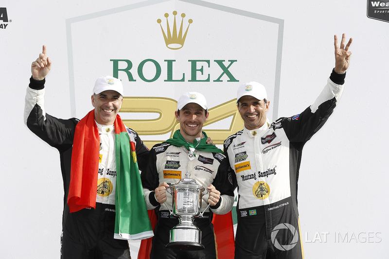 «24 часа Дайтоны»: Жуан Барбоза, Кристиан Фиттипальди, Филипе Альбукерк, Action Express Racing