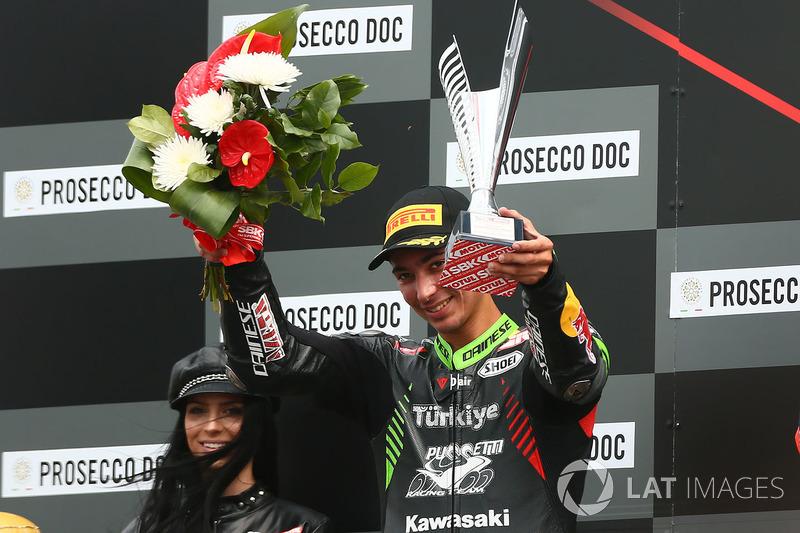 Podyum: 2. Toprak Razgatlioglu, Kawasaki Puccetti Racing