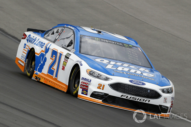 Paul Menard Wood Brothers Racing Ford Fusion Quick Lane Tire