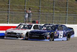 Brandon Jones, Joe Gibbs Racing, Toyota Camry XYO Networks and Cole Custer, Stewart-Haas Racing, Ford Mustang Haas Automation
