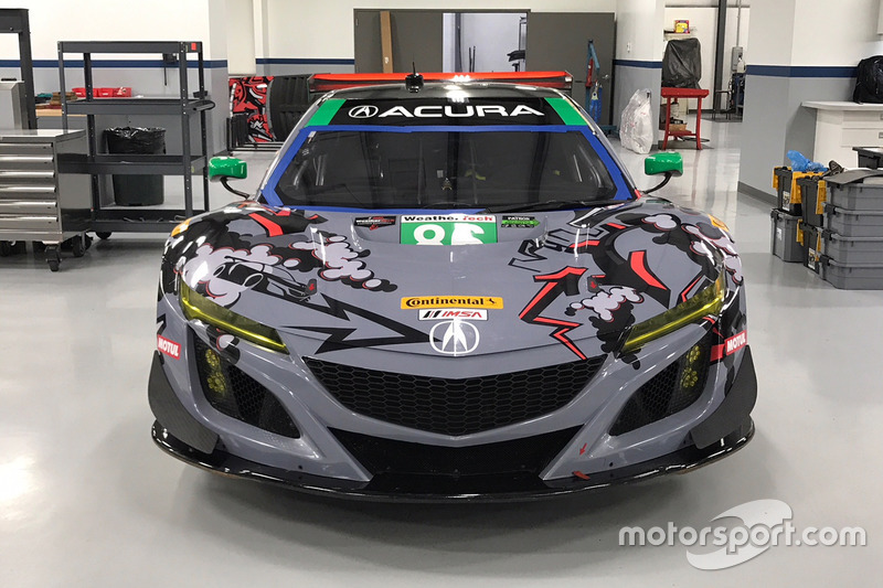 Michael Shank Racing livery onthulling