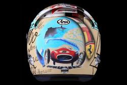 Шлем пилота Ferrari Себастьяна Феттеля
