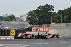 Max Verstappen, Van Amersfoort Racing precede Esteban Ocon, Prema Powerteam