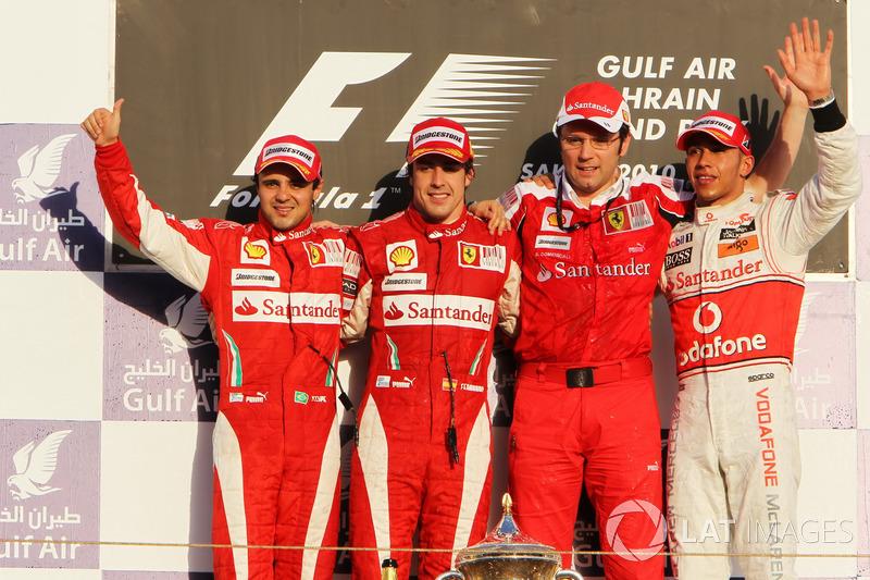 Гран При Бахрейна-2010: идеальное начало карьеры в Ferrari