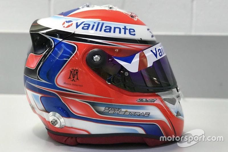 Le casque de Sacha Fenestraz, Vaillante-Carlin