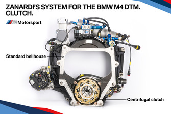 Zanardi'nin BMW M4 DTM debriyaj