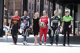 David Reynolds, Erebus Motorsport Holden, Jamie Whincup, Triple Eight Race Engineering Holden, Will Davison, 23Red Racing Ford, Mark Winterbottom, Tickford Racing Ford