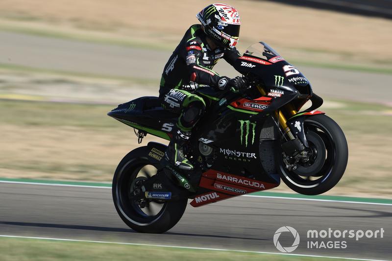 MotoGP Aragon: Johann Zarco, Monster Yamaha Tech 3