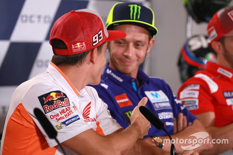 Valentino Rossi, Yamaha Factory Racing, Márc Marquez, Repsol Honda Team