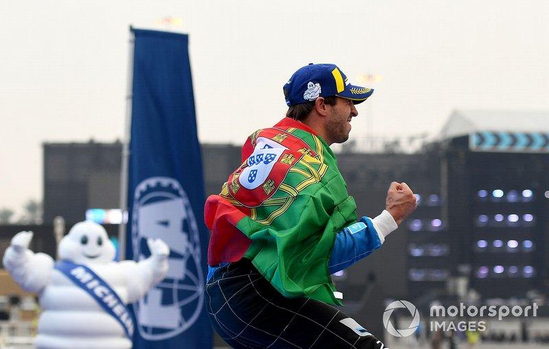 Il vincitore Antonio Felix da Costa, BMW I Andretti Motorsports, BMW iFE.18