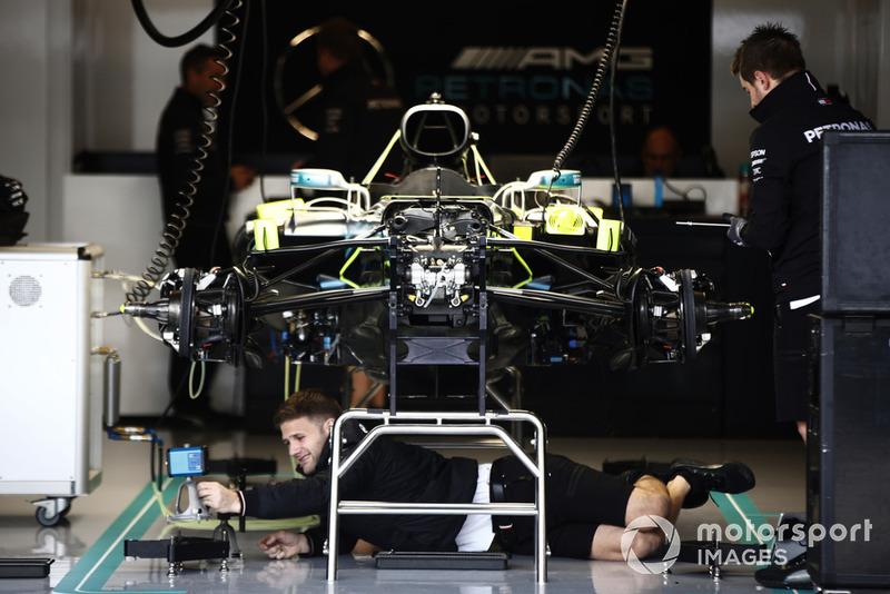 Technikai képgaléria Austinból - csütörtök - F1 2018