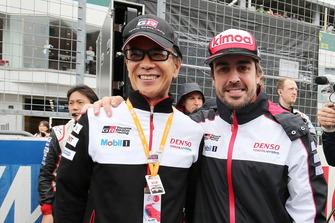 Fernando Alonso, Toyota Gazoo Racing, Shigeki Tomoyama, President Gazoo Racing