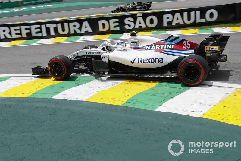 14: Sergey Sirotkin, Williams FW41, 1'10.381