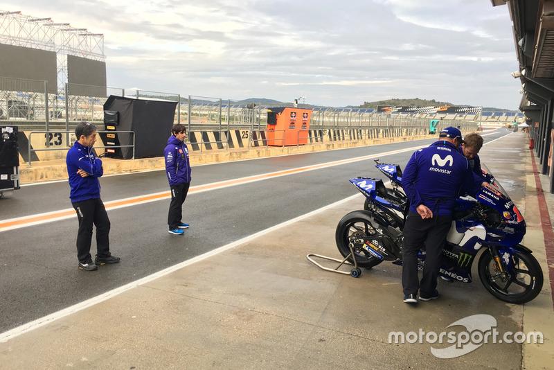 Julian Simon, nuevo coach de Maverick Viñales Yamaha MotoGP en Valencia
