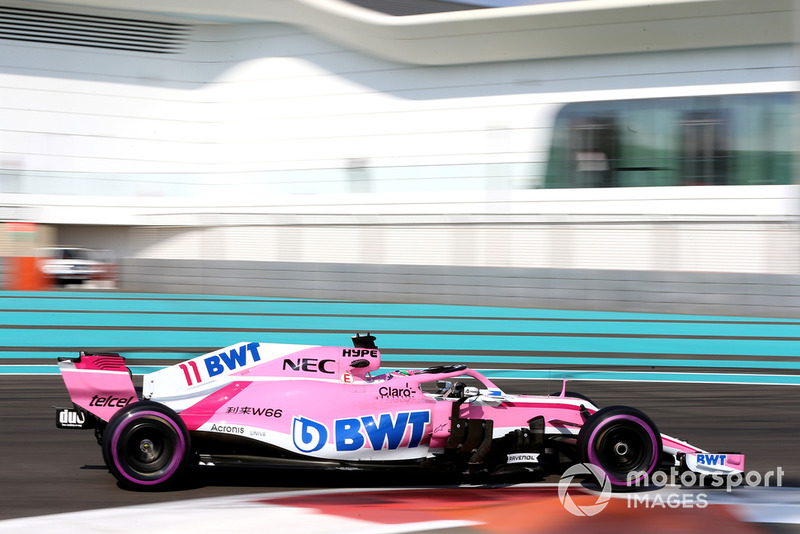 2018. Racing Point Force India VJM11 Mercedes