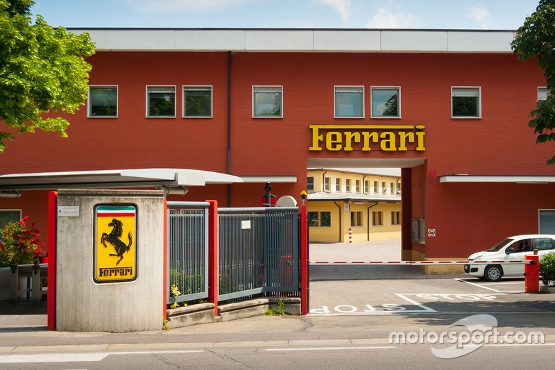 Ferrari's iconic Maranello base in Modena