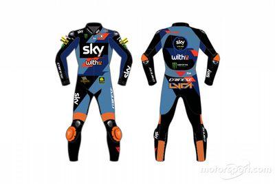 Decoración del Sky Racing Team VR46
