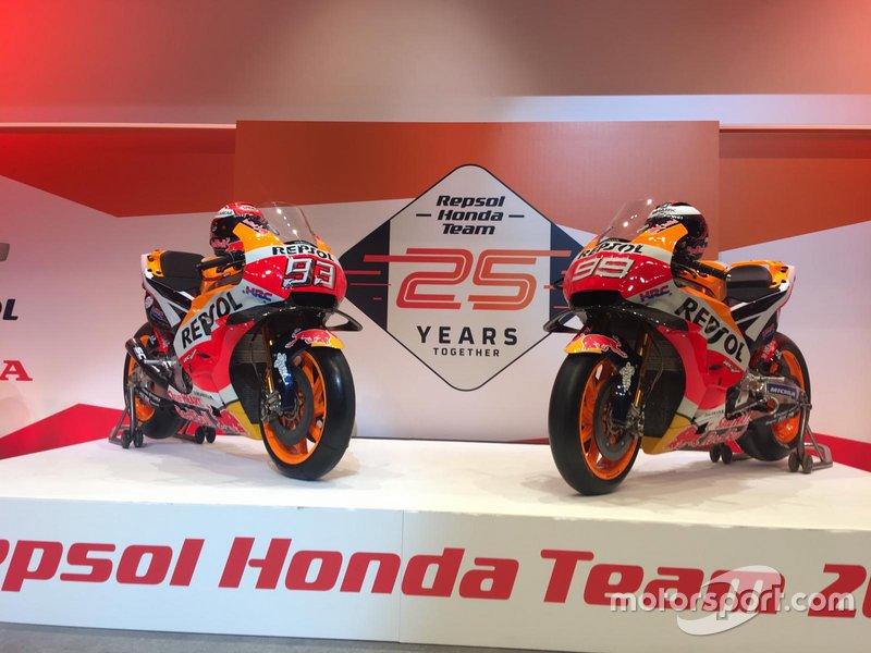 Мотоцикли Марка Маркеса та Хорхе Лоренсо, Repsol Honda Team