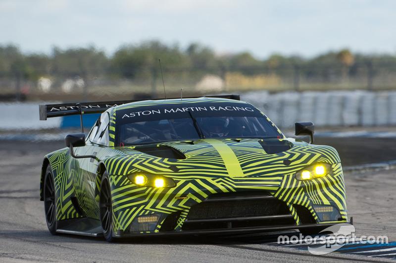 Aston Martin Racing Aston Martin Vantage GTE At Aston Martin - Aston martin vantage gt 2018