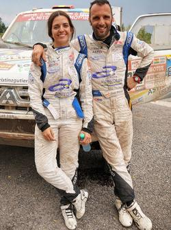 Кристина Гутьеррес и Габрьель Мойсет Феррер, DKR Raid Service, Mitsubishi Montero (№354)