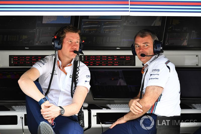 Rob Smedley, Williams Head of Vehicle Performance, Dave Reading, Williams