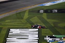 Austin Dillon, Richard Childress Racing Chevrolet Camaro, burnout, grass
