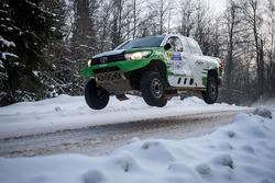 Ясир Хамад Зеайдан и Алексей Кузьмич, Saudi Arabia, Toyota Hilux Overdrive (№20)