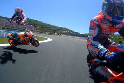Crash: Dani Pedrosa, Repsol Honda Team (Screenshot)