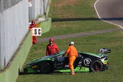 #55 Dörr Motorsport: Jacobus Bartles, crash