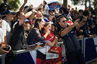 Christian Horner, Red Bull Racing Team Principal fans selfie