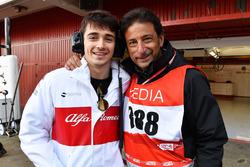 Шарль Леклер, Alfa Romeo Sauber F1 Team та Жан-Мішель Тібі, оператор FOM