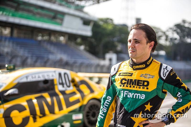 Felipe Massa em Interlagos