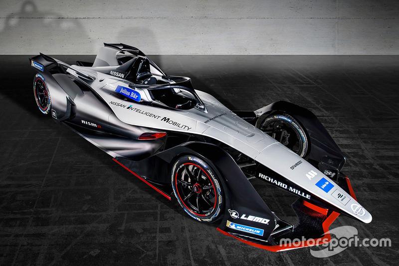 Автомобиль Nissan для Формулы E