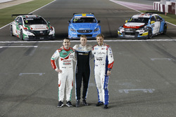 Тед Бьорк, Polestar Cyan Racing, Норберт Михелис, Honda Racing Team JAS, и Том Чилтон, Sébastien Loe