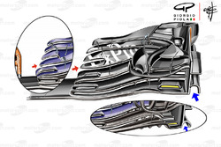 McLaren MCL33 front wing Austrian GP