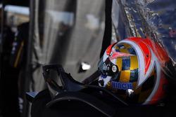 Helm von James Hinchcliffe, Schmidt Peterson Motorsports Honda