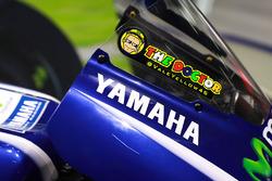 Logo en la moto de Valentino Rossi, Yamaha Factory Racing