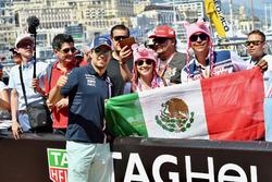 Sergio Perez, Force India et des fans