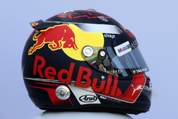 Il casco di Max Verstappen, Red Bull Racing