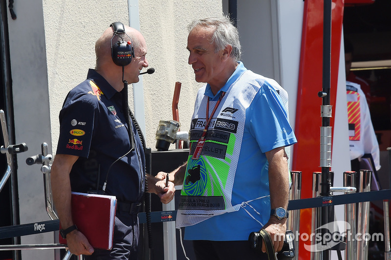 Adrian Newey, Red Bull Racing, Giorgio Piola
