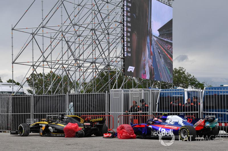 Ніко Хюлькенберг, Renault Sport F1 Team R.S. 18, П'єр Гаслі, Scuderia Toro Rosso STR13
