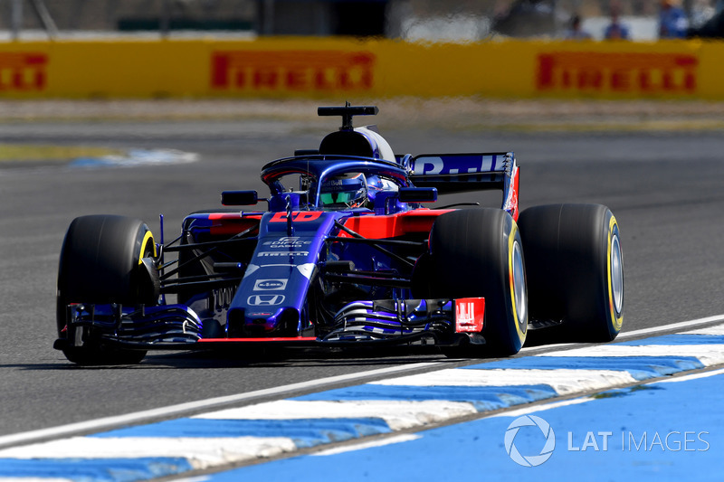 16. Brendon Hartley, Scuderia Toro Rosso STR13