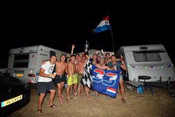 Tifosi di Max Verstappen, Red Bull Racing in campeggio