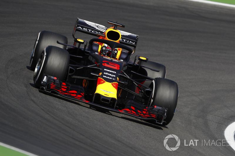 20. Daniel Ricciardo, Red Bull Racing RB14