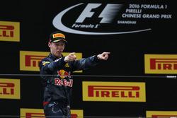 Daniil Kvyat, Red Bull Racing, derde plaats