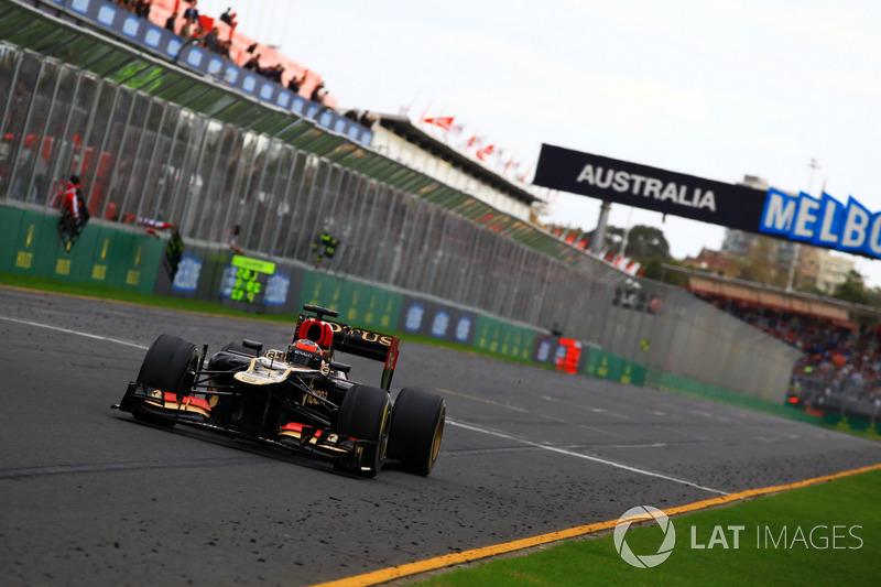 В первой половине сезона Lotus называли едва ли не лучшей машиной пелотона, а на первом Гран При Австралии Райкконен одержал победу