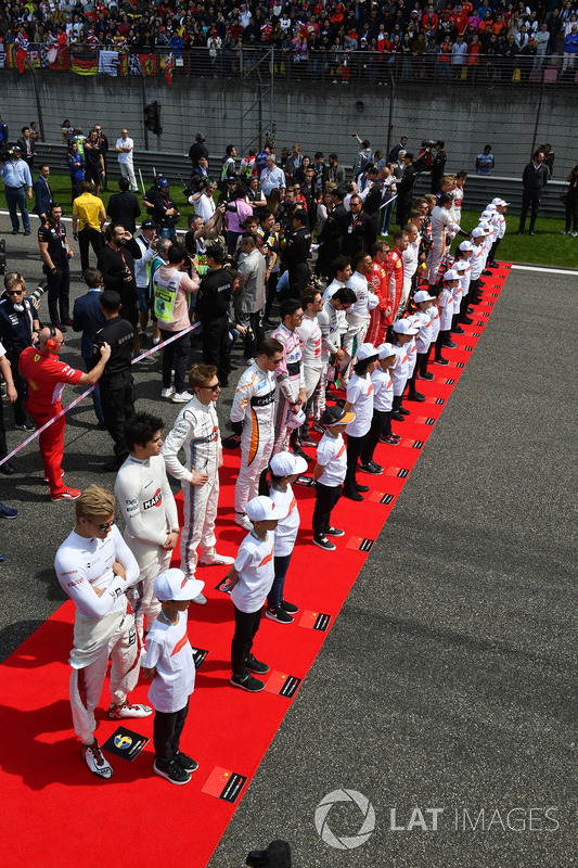 Drivers and grid kids on the grid
