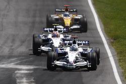 Nick Heidfeld, BMW Sauber F1.08, Robert Kubica, BMW Sauber F1.08, Fernando Alonso, Renault R28