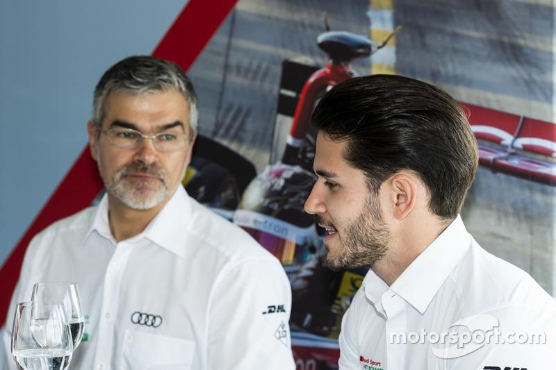 Daniel Abt, Audi Sport ABT Schaeffler, Dieter Gass, Head of DTM Audi Sport