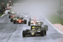 Ayrton Senna, Lotus 97T startta lider